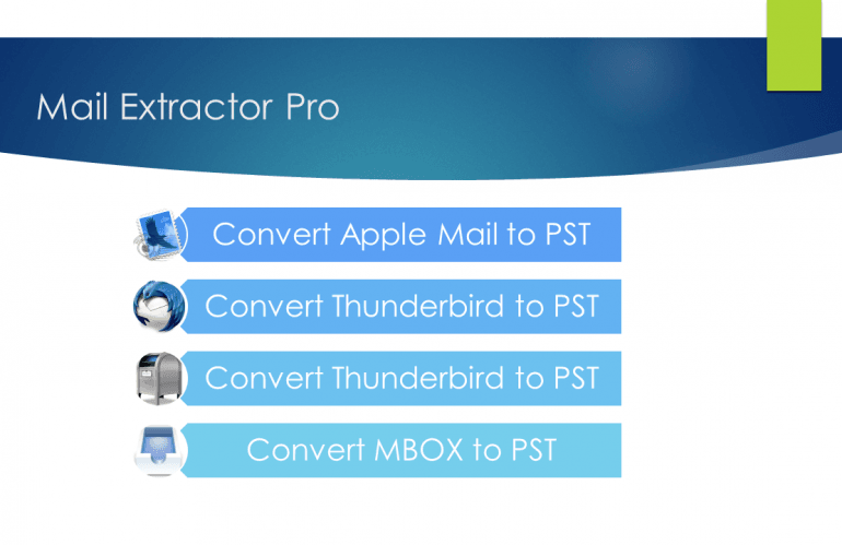 Apple Mail to Pst Conversion in Merely 3 Steps
