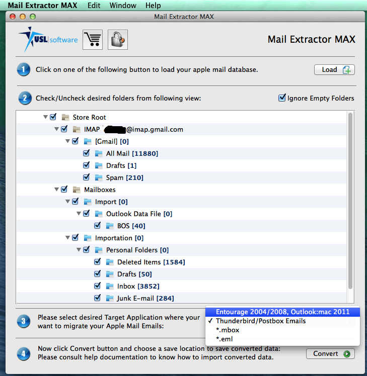 Apple Mail to Outlook 2011 Import