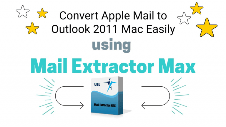 Convert Apple mail to Outlook 2011 Mac Easily