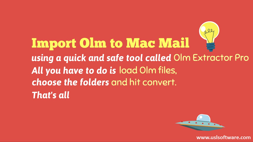 A Handy Tool to Import Olm to Mac Mail