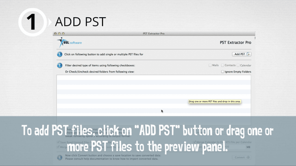 how to convert pst to mbox file