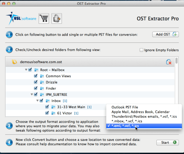 free software to convert ost to pst