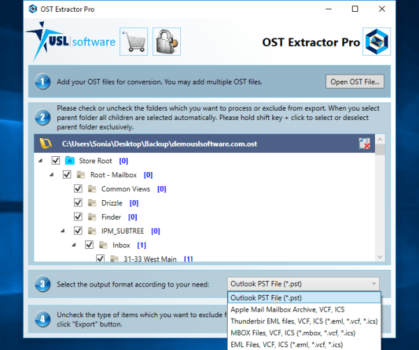 software to convert ost to pst