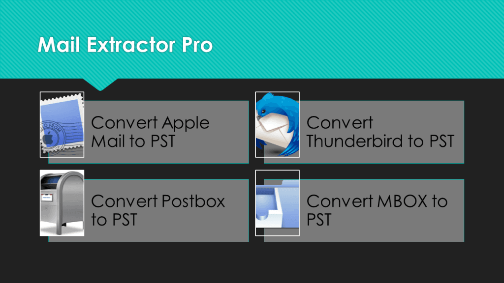 Thunderbird to PST Conversion