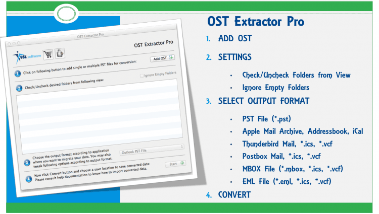 importing ost file into thunderbird